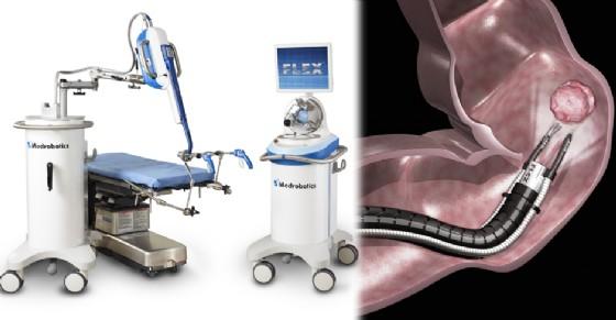 Il robot e l'intervento