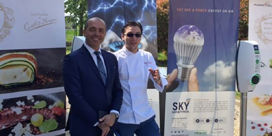 Colonnine di ricarica, è a Pordenone il primo ristorante del FVG che sostiene la mobilità elettrica (© Sky Gas & Power)