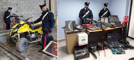 Sequestrato 'magazzino del rubato' a Nole (© Carabinieri di Torino)