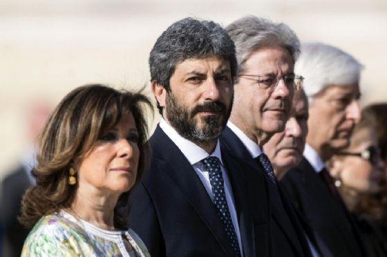 Roberto Fico e Maria Elisabetta Casellati