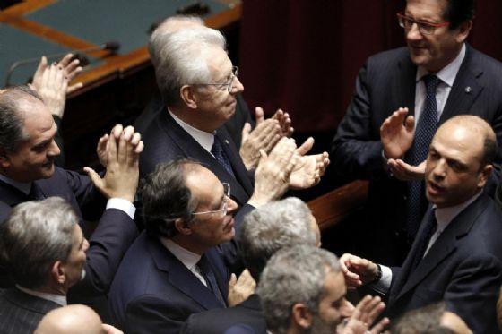 L'ex premier tecnico Mario Monti