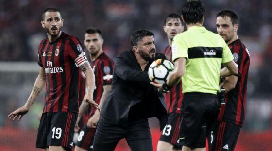 Sarri-Giuntoli è un'idea del Milan se Gattuso non centra l'Europa