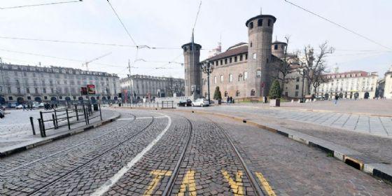 Piazza Castello, luogo dell'aggressione