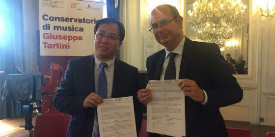 Erasmus Eurasiatico grazie all'accordo fra i conservatori di Trieste e Pechino