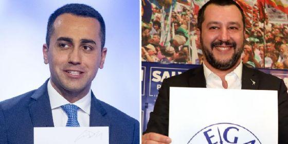 Matteo Salvini a Luigi Di Maio