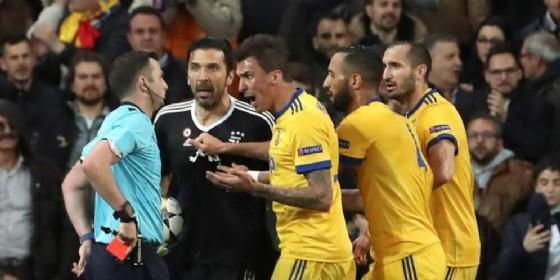 Buffon, l'Uefa apre due procedimenti disciplinari per l'espulsione e lo sfogo dopo Real-Juve (© ANSA)