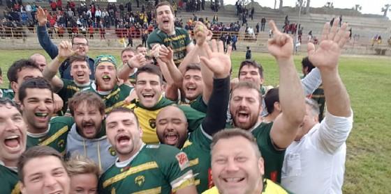 Storico Biella Rugby promosso in Serie A! (© Biella Rugby)