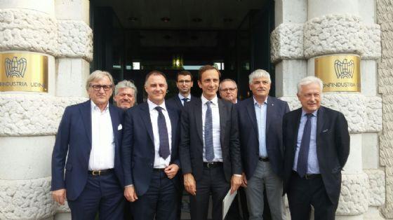 L'incontro si è tenuto nella sede di Confindustria di Udine