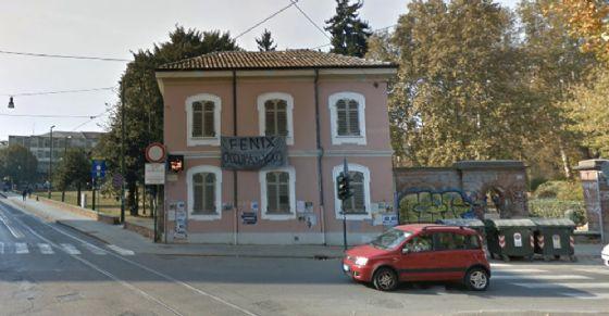 L'immobile occupato di corso San Maurizio (© Google Street View)
