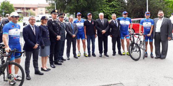 E' partita da Udine una delle 'staffette' della Memoria (© Sap)