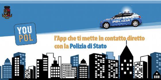 E' attiva YouPol, l'app che ti mette in contatto con la Polizia di Stato (© Polizia di Stato)