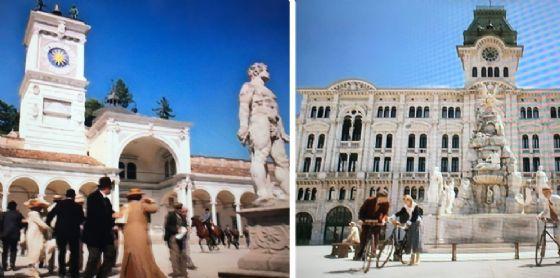 Piazza Libertà, a Udine, diventa il simbolo dell'irredentismo triestino