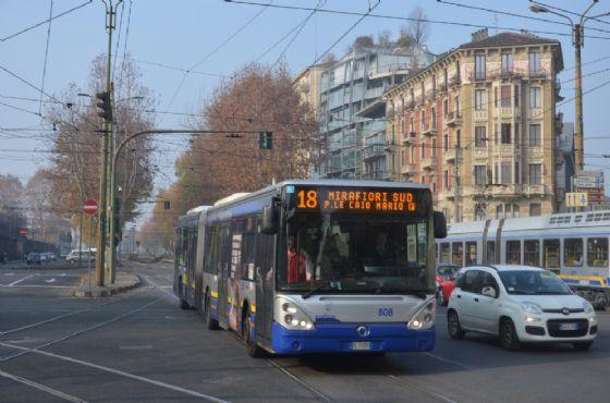 L'autobus della linea 18 (© Massimiliano Miano)
