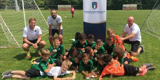 Pordenone Calcio: giovani ramarri ambasciatori FVG a Coverciano (© Pordenone Calcio)