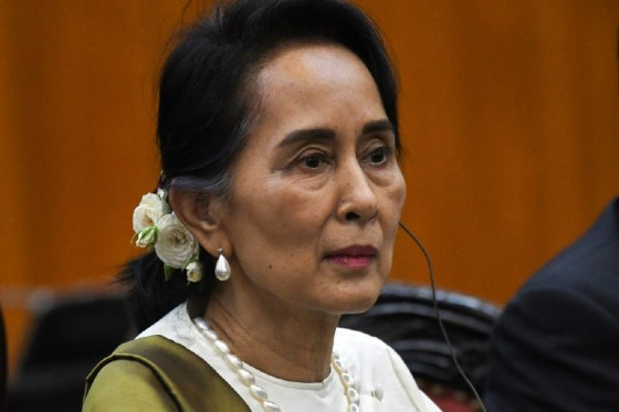 Myanmar state counsellor Aung San Suu Kyi's party won an emphatic victory during elections in 2015, propelling her to power