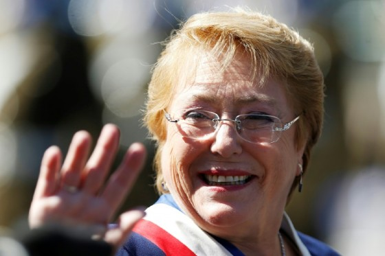 First elected in 2006 and serving two non-consecutive terms, Michelle Bachelet left office this year