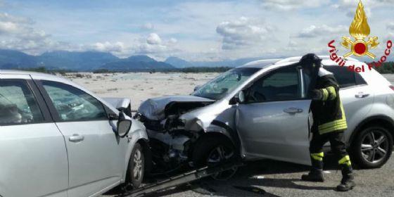 Incidente sul ponte di Dignano: 4 persone ferite