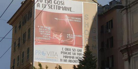Il cartellone in questione