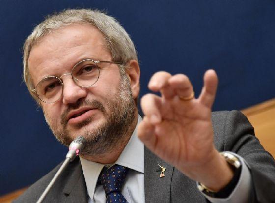 Il responsabile economico della Lega Claudio Borghi