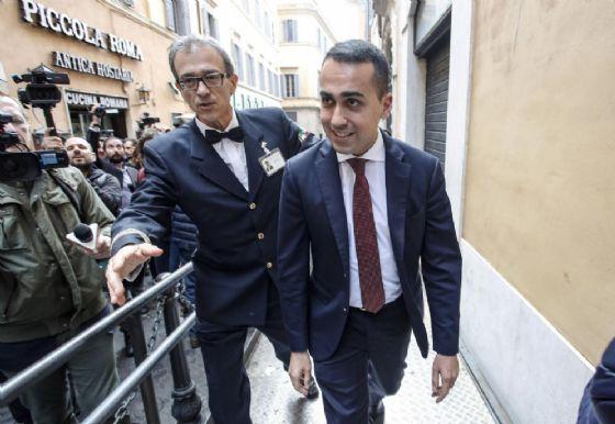 Il capo politico del M5s Luigi Di Maio