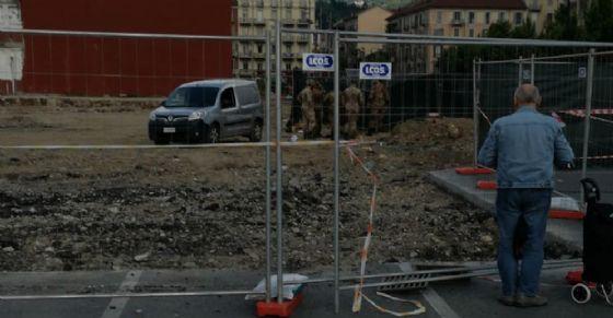 Bomba messa in sicurezza (© Diario di Torino)