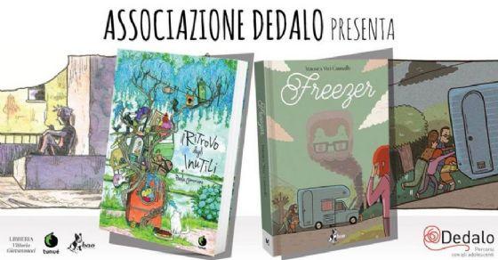 Alla Libreria Giovannacci due grafic novel per parlare di adolescenza (© Associazione Dedalo)