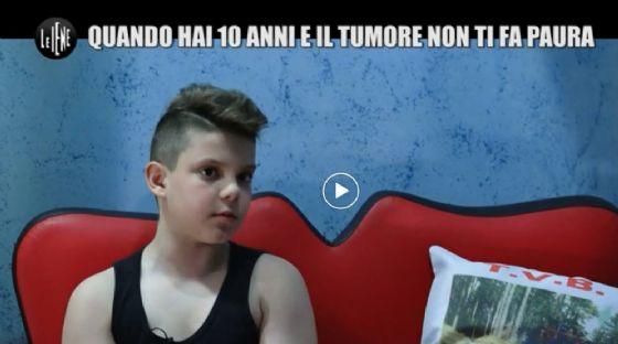 Daniel durante un'intervista de Le Iene