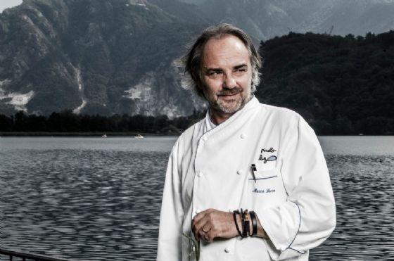 Marco Sacco è conosciuto anche come lo «chef d'acqua dolce» (© Facebook Official Page)