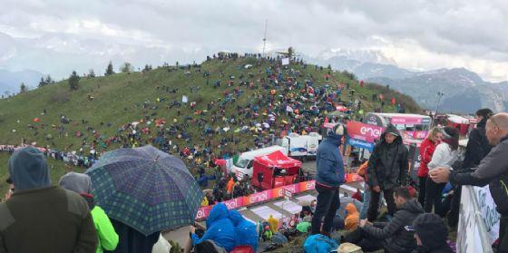 Giro d'Italia: Chris Froome conquista lo Zoncolan (© G.G.)