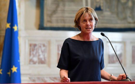 Beatrice Lorenzin dopo l'incontro con Giuseppe Conte