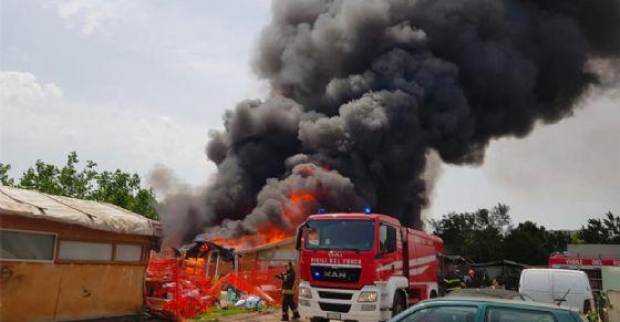 L'incendio al campo Tazzoli