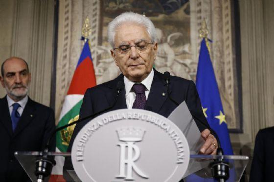 Il presidente Sergio Mattarella (© ANSA)
