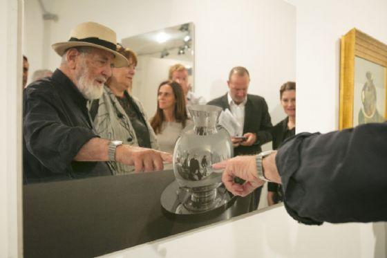 Biella, grande successo per l'inaugurazione di Arte al Centro