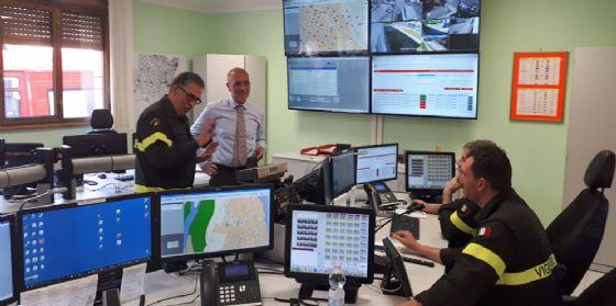 La visita del Prefetto al Comando provinciale dei vigili del fuoco di Gorizia