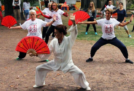 All'Oasi Zegna si pratica il Qi Gong con la Fondazione Tempia