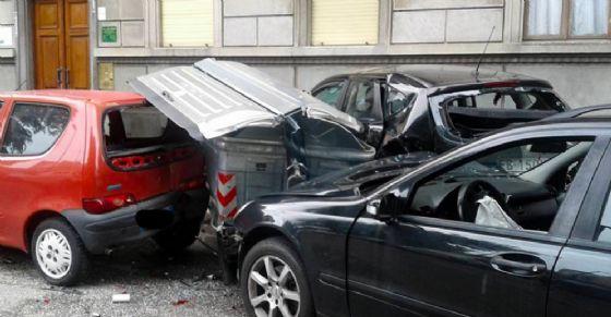 L'incidente di corso Trapani (© Francesca Dag)