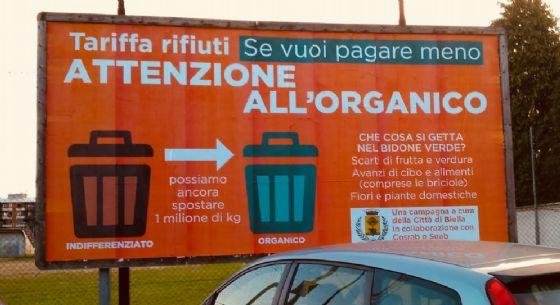 Biella, una campagna per aumentare la raccolta di rifiuti organici