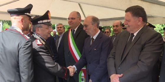 Riccardo Riccardi, vicepresidente della Regione Friuli Venezia Giulia interviene  alla commemorazione delle vittime della strage di Peteano
