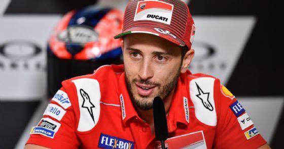Andrea Dovizioso nella conferenza stampa del giovedì del GP del Mugello di MotoGP