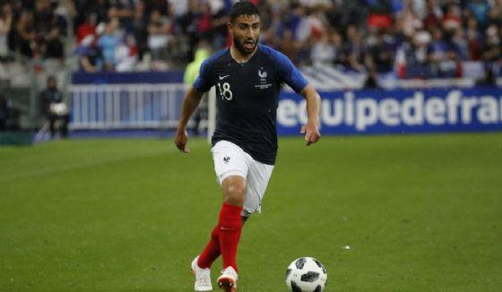 L'attaccante francese Nabil Fekir