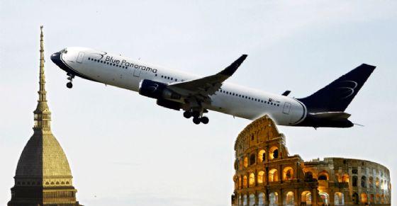 Torino-Roma, nuovo volo da Caselle: giorni e orari della tratta aerea (© Blue Panorama)