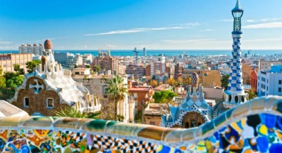 Panorama di Barcellona