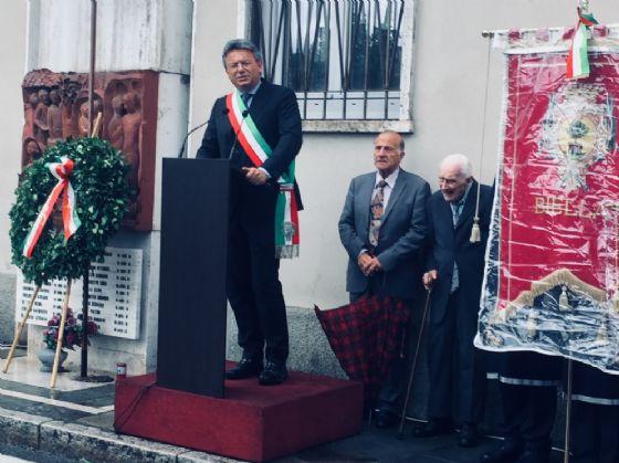 Biella, celebrato ieri l'anniversario dell'eccidio del 4 giugno 1944