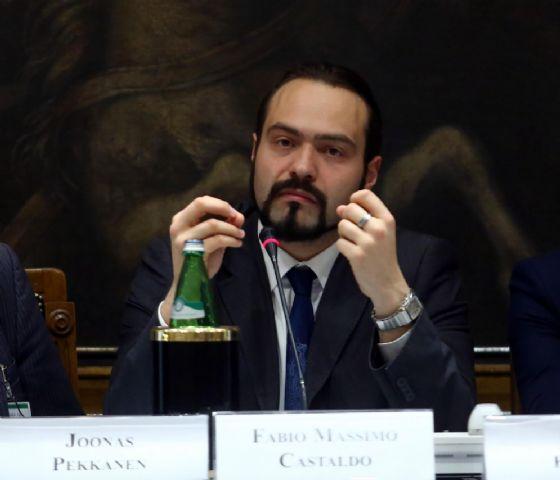 L'eurodeputato M5s Fabio Massimo Castaldo