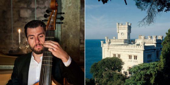 Al castello di Miramare e nei giardini 'segreti' musica e degustazioni