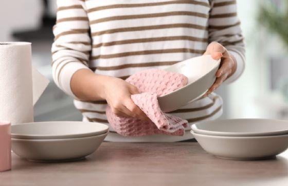 Le intossicazioni alimentari potrebbero essere causate da i canovacci da cucina