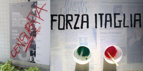 Monfalcone, a mostra allestita censurata l'opera dell'artista Mariano Mazzelli