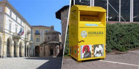 Rifiuti: nei contenitori gialli anche abiti e scarpe in pessime condizioni (© Diario di Biella)