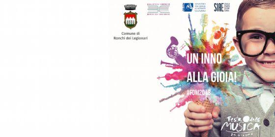 """Anche quest' anno torna la """"Festa della Musica"""" a Ronchi dei Legionari"""