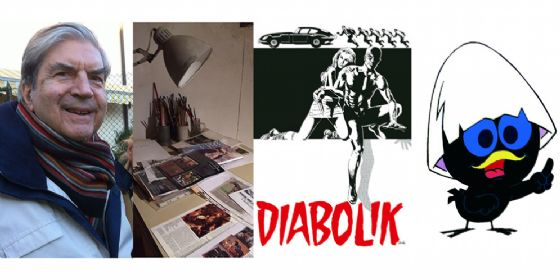 Morto Silvestri, illustratore, grafico e pittore. Aveva creato Calimero, Il Gigante, Jo Condor e Diabolik (© Diario di Pordenone)